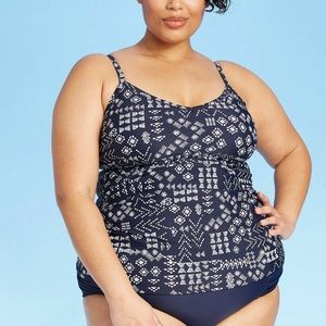 New Plus size swimtop ONLY